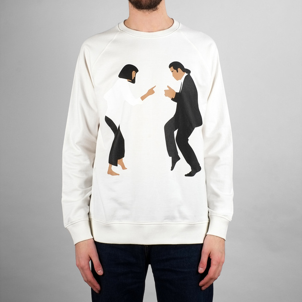 Sweatshirt Malmoe Pulp Fiction Dance