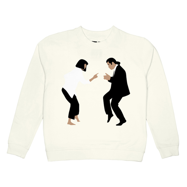 Sweatshirt Ystad Pulp Fiction Dance