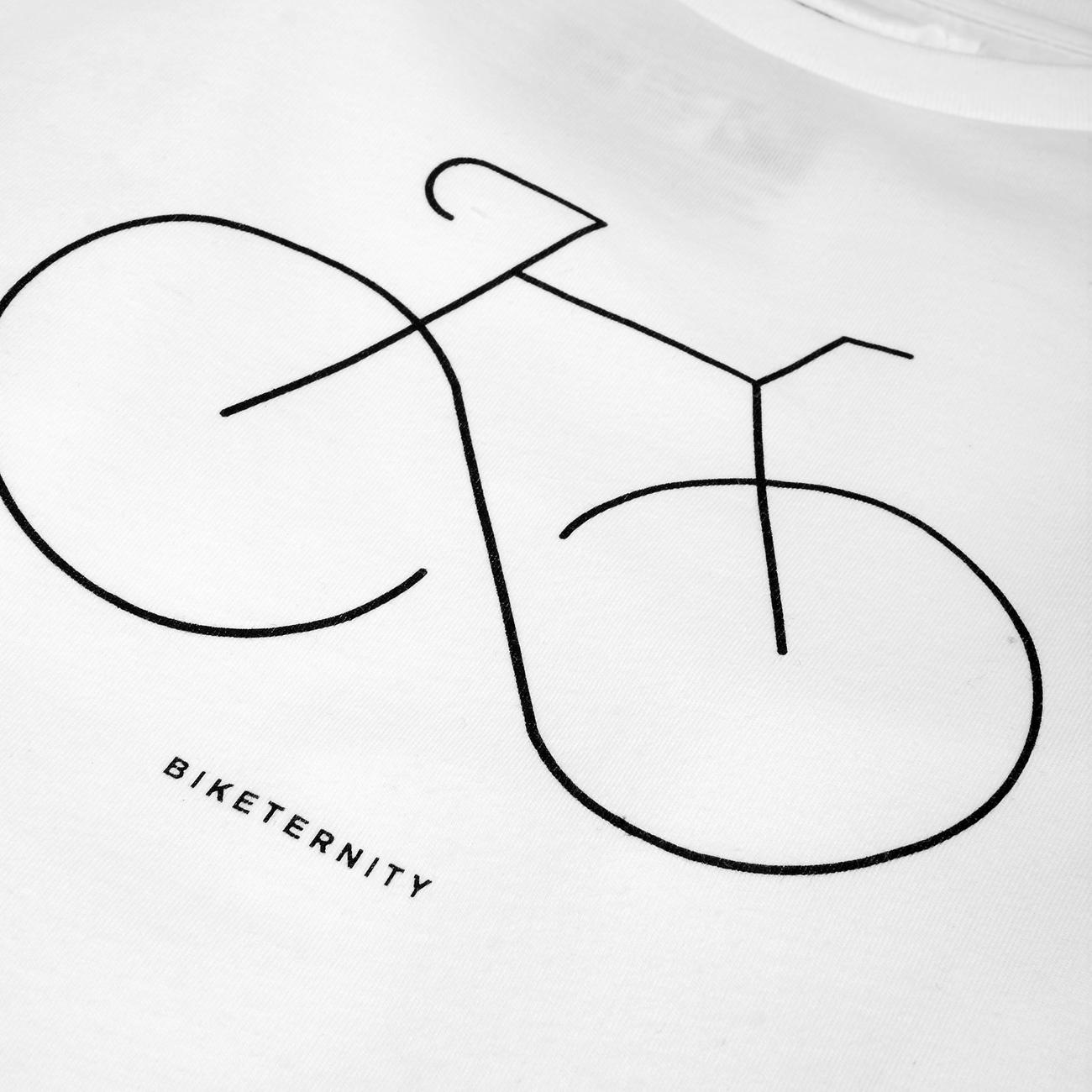 T-shirt Stockholm Biketernity White
