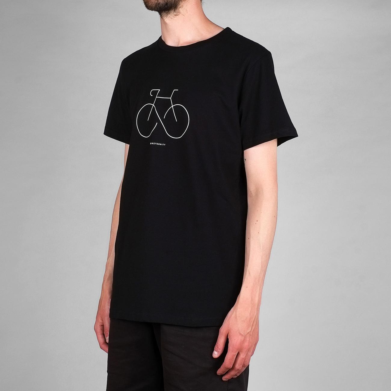T-shirt Stockholm Biketernity Black