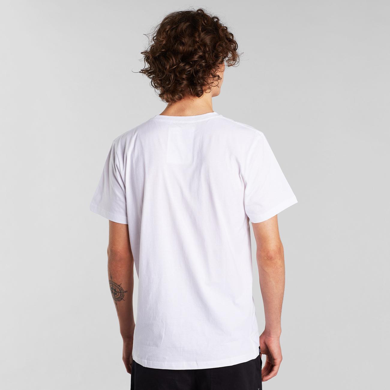 T-shirt Stockholm Infinity Bike White