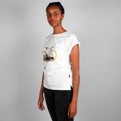 T-shirt Visby Brick Wall Bike