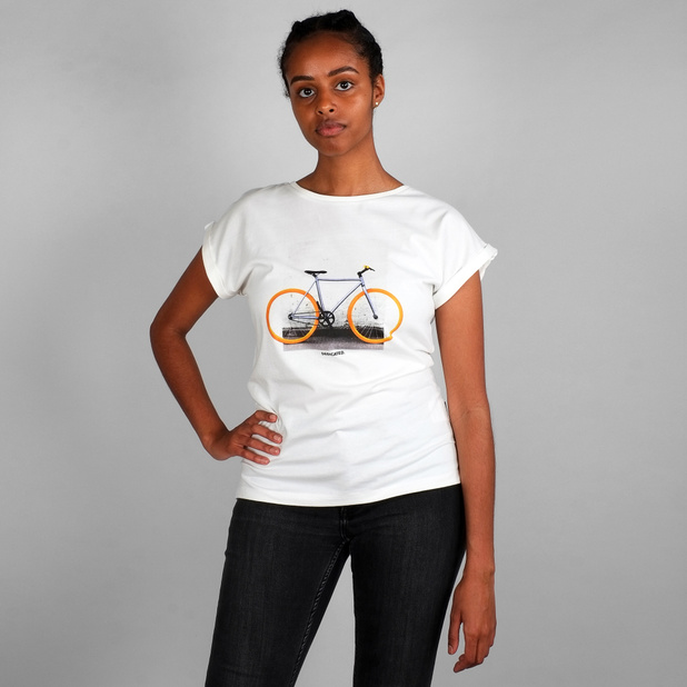 T-shirt Visby Brick Wall Bike