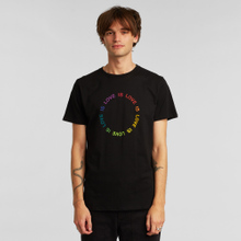 T-shirt Stockholm Love Circle Black