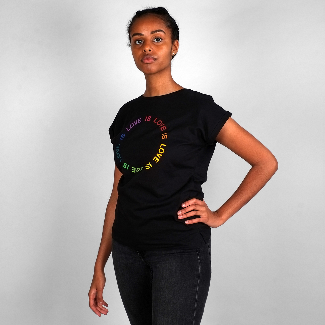T-shirt Visby Love Circle