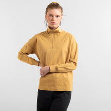 Sweatshirt Halfzip Mariestad Beige
