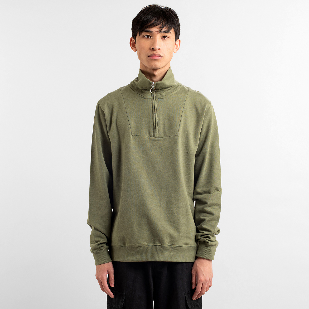 Sweatshirt Halfzip Storlien Spread Logo