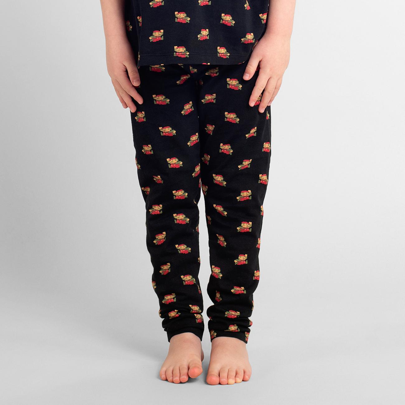 Leggings Lummelunda Super Mario Pattern Black