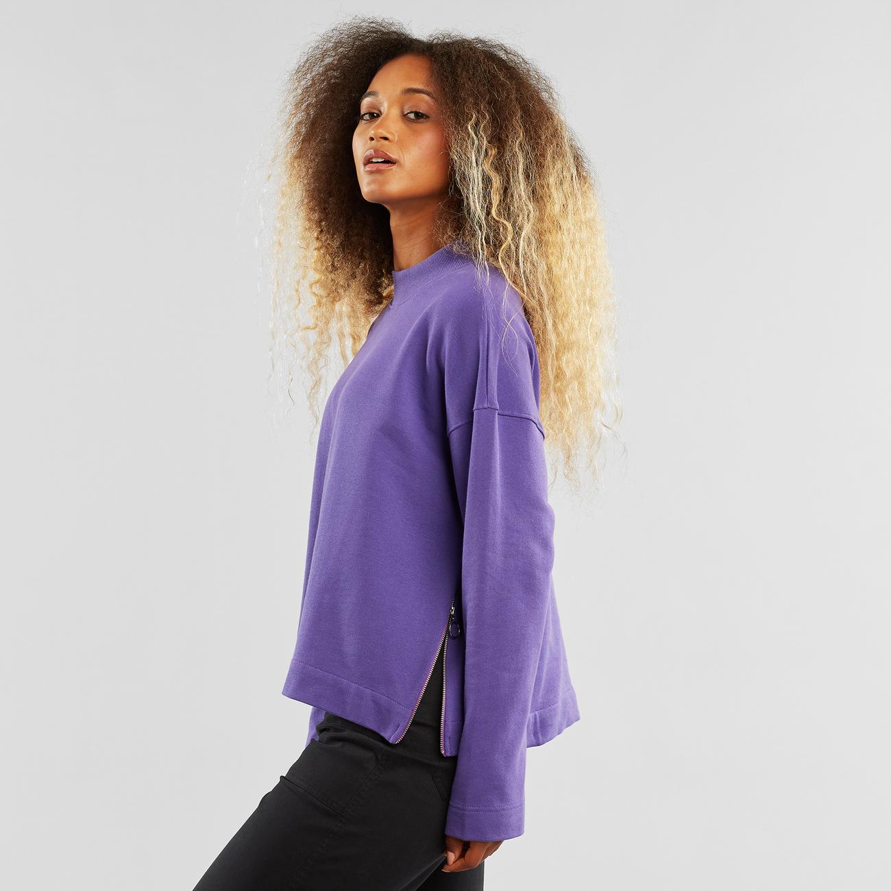 Sweatshirt Lerdala Purple