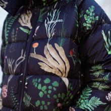 Puffer Jacket Boden Secret Garden