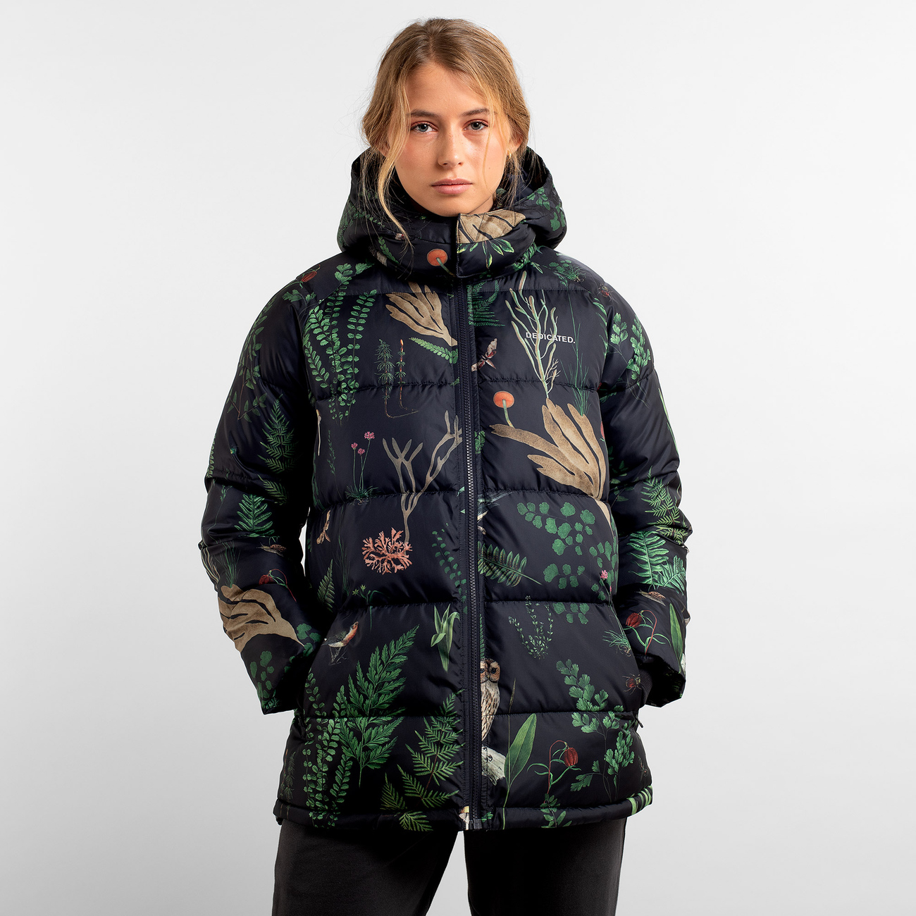 DEDICATED Puffer Jacket Boden Secret Garden