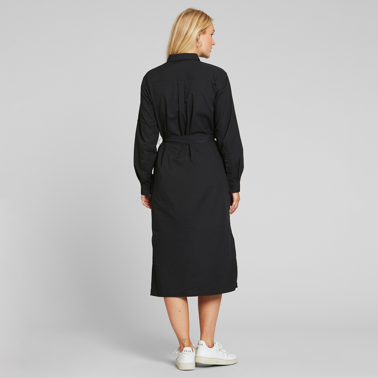 Shirt Dress Trondheim Black