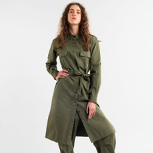 Shirt Dress Trondheim Leaf Green