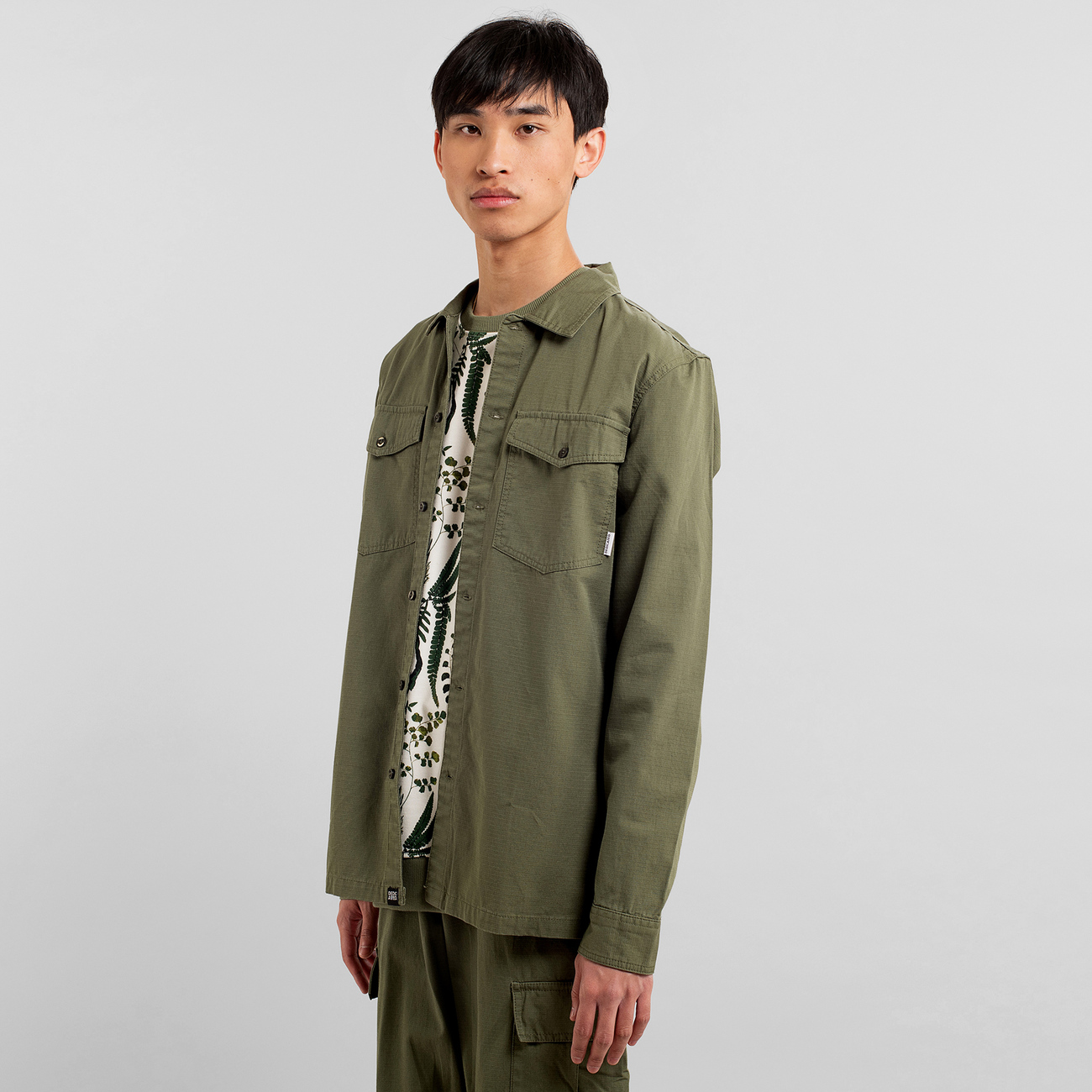 Shirt Edsbyn Leaf Green