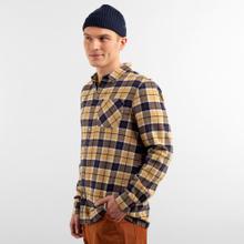 Shirt Rute Flannel Checker Beige