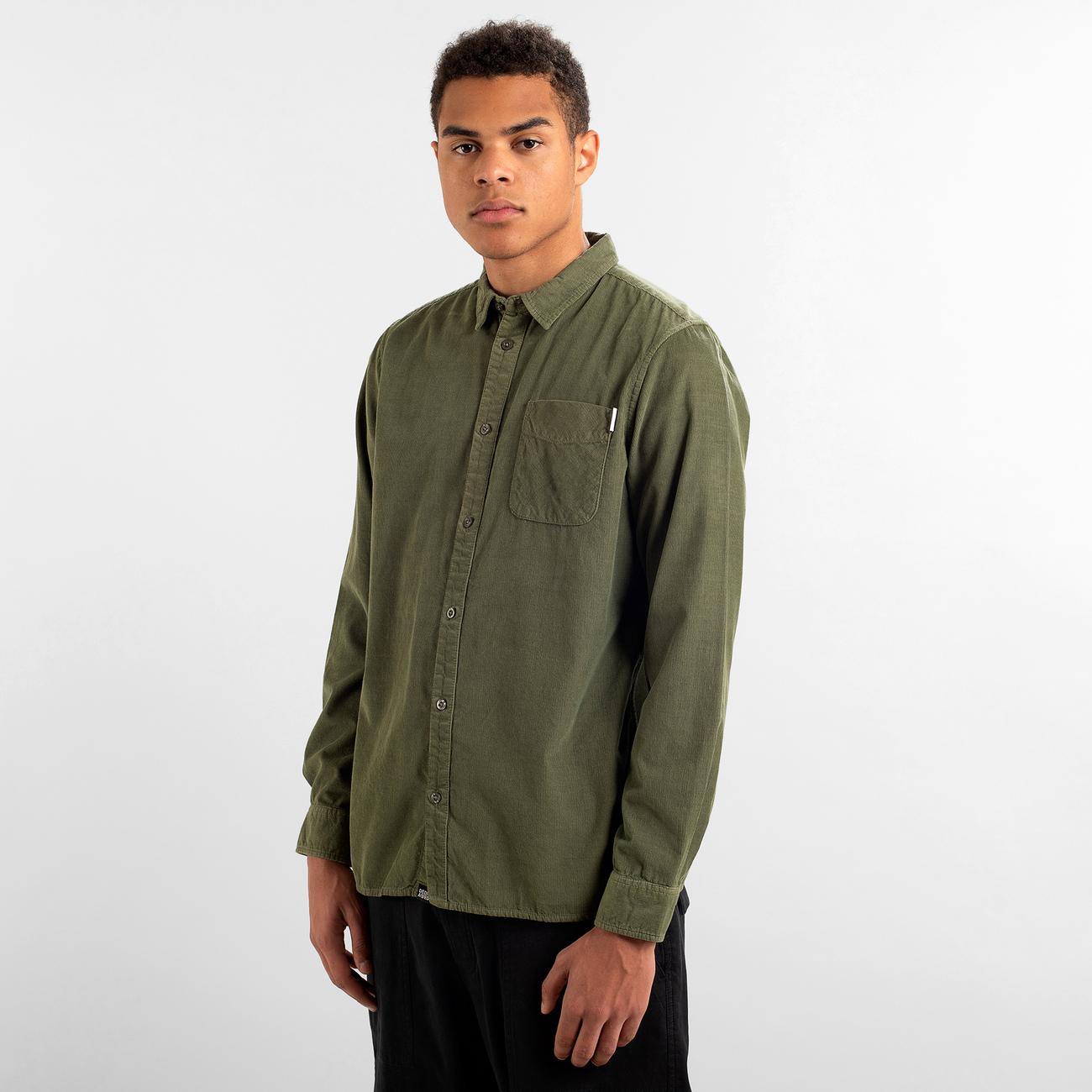 Shirt Varberg Corduroy Leaf Green