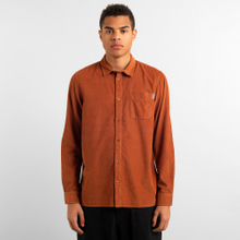 Shirt Varberg Corduroy Mocha Brown