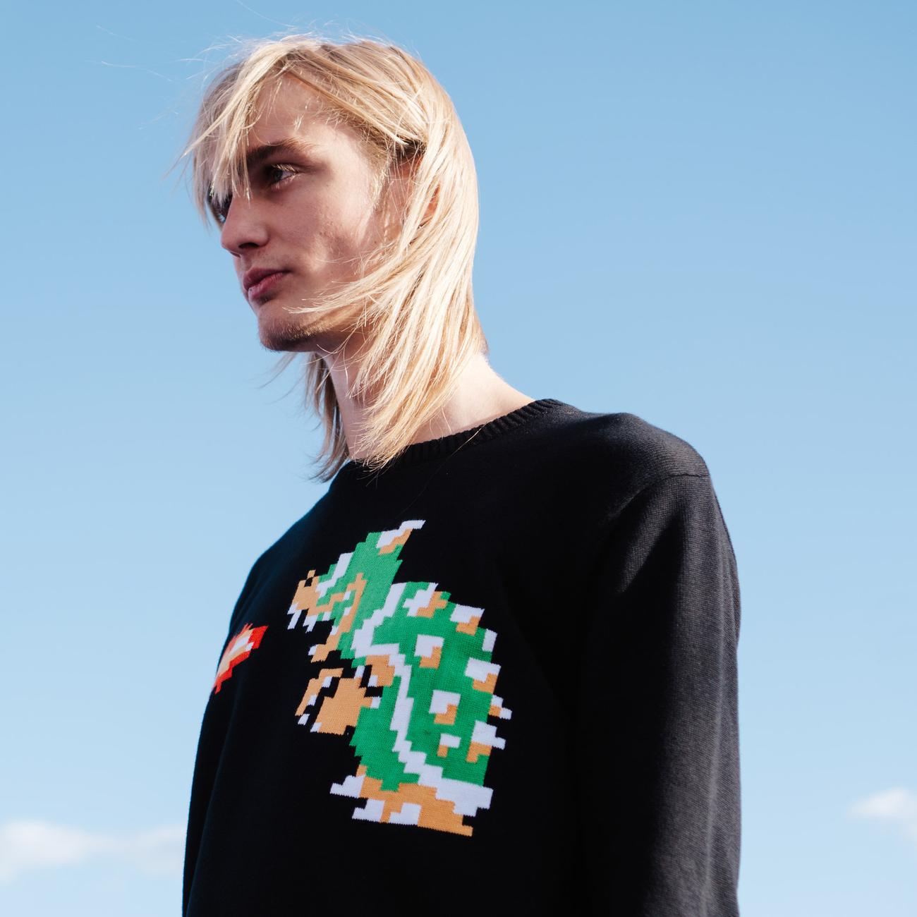 Sweater Mora Bowser