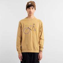 Sweatshirt Malmoe Color Bike Beige