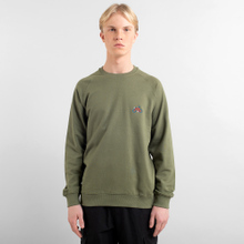 Sweatshirt Malmoe Stitch Bike Leaf Green