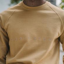 Sweatshirt Malmoe Dedicated Spread Logo Beige
