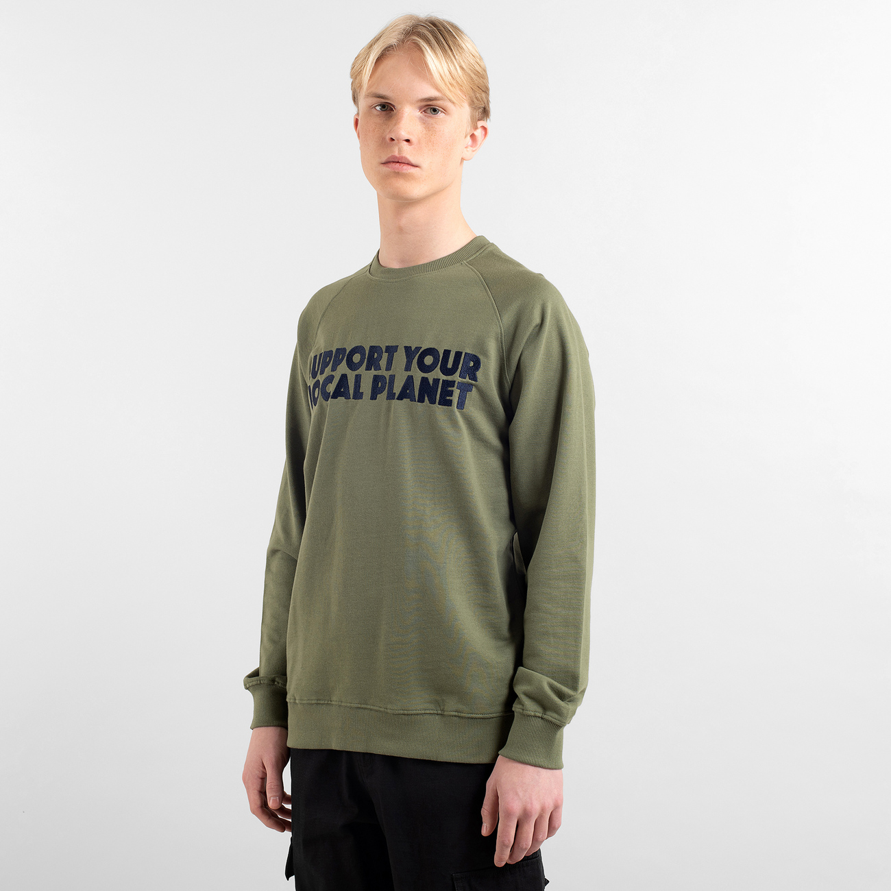 Sweatshirt Malmoe Bold Support Leaf Green