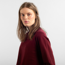 Sweatshirt Ystad Raglan Base Burgundy