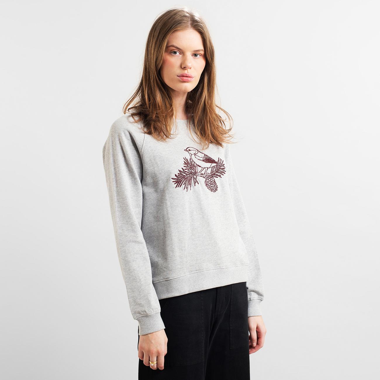 Sweatshirt Ystad Raglan Cone Bird
