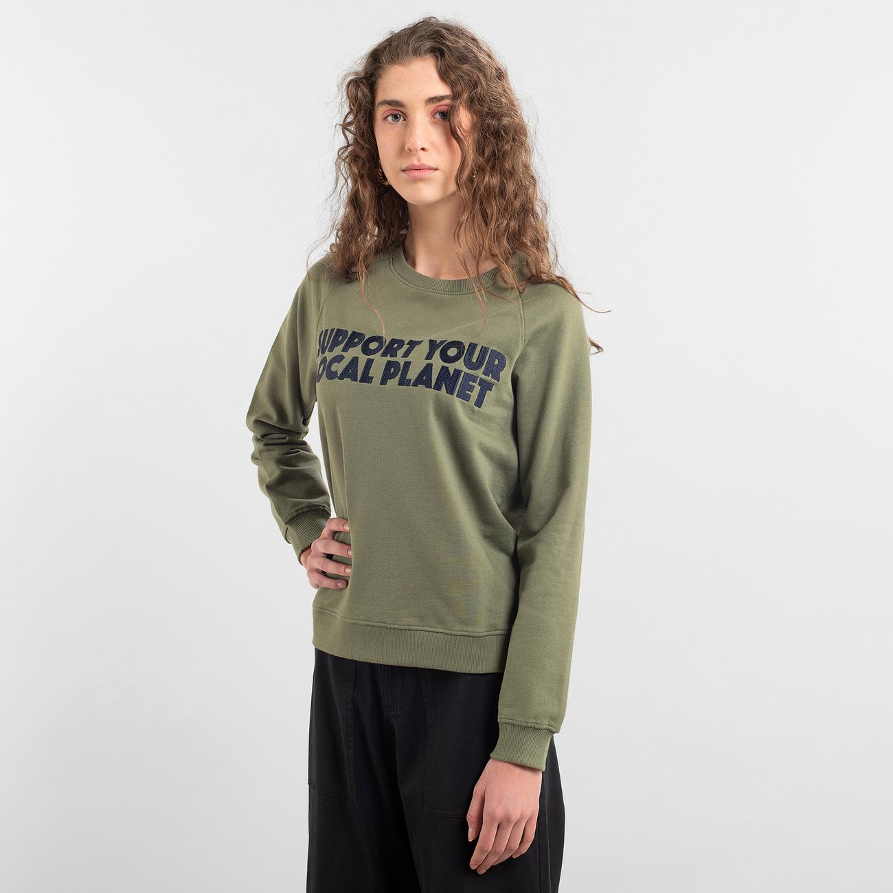 Sweatshirt Ystad Raglan Bold Support