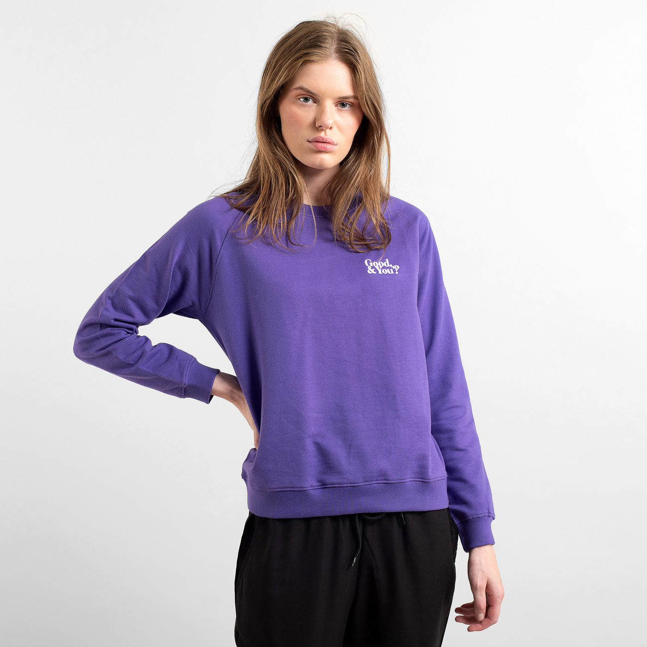 Sweatshirt Ystad Raglan Good and You