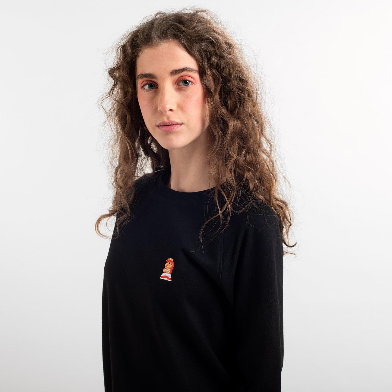 Sweatshirt Ystad Raglan Peach