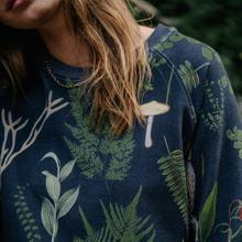 Sweatshirt Ystad Raglan Secret Garden