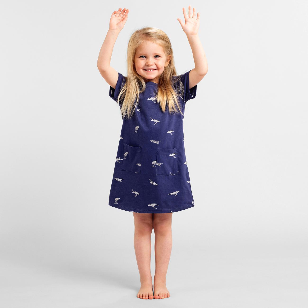 T-shirt Dress Vetlanda Whales