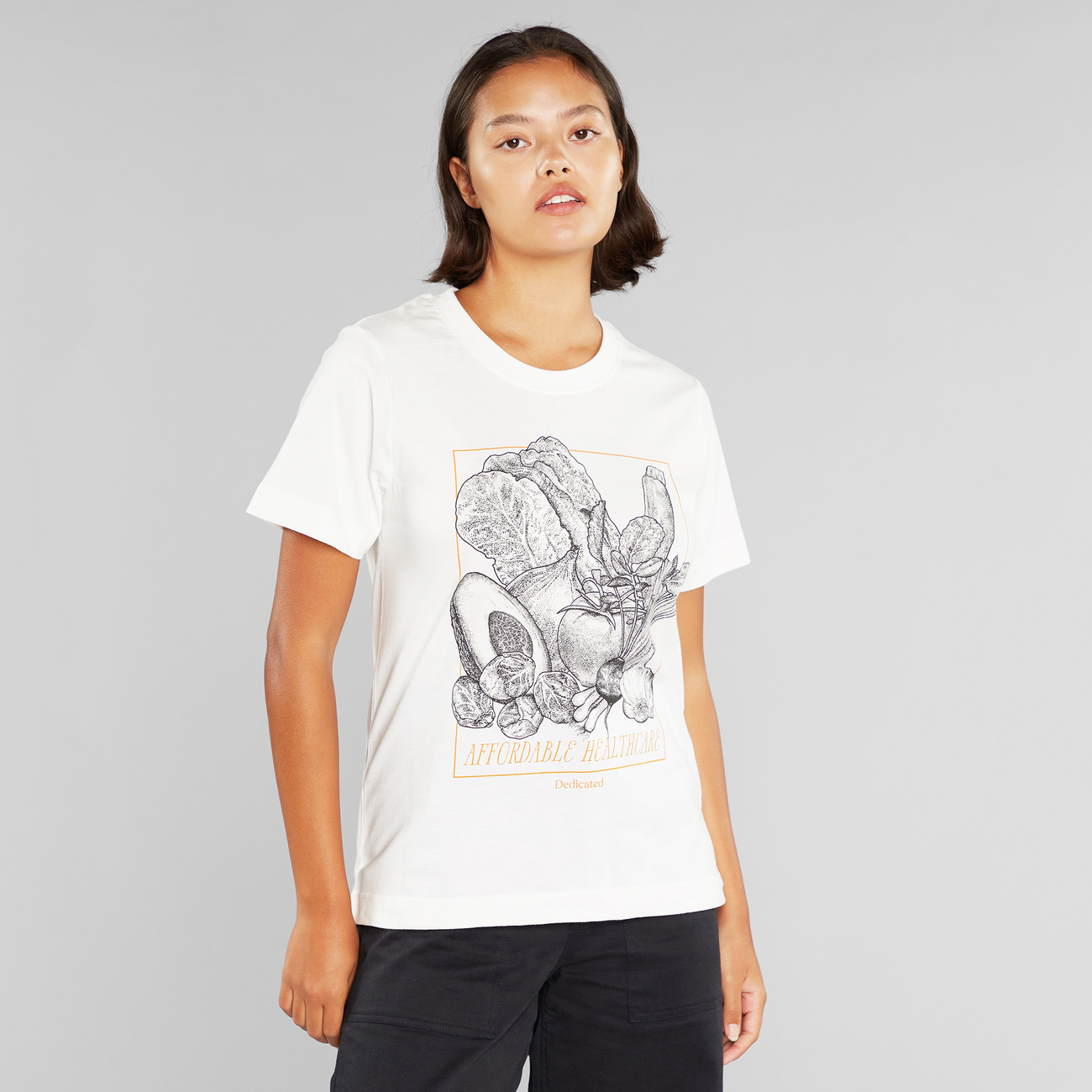 T-shirt Mysen Affordable Healthcare Off-White