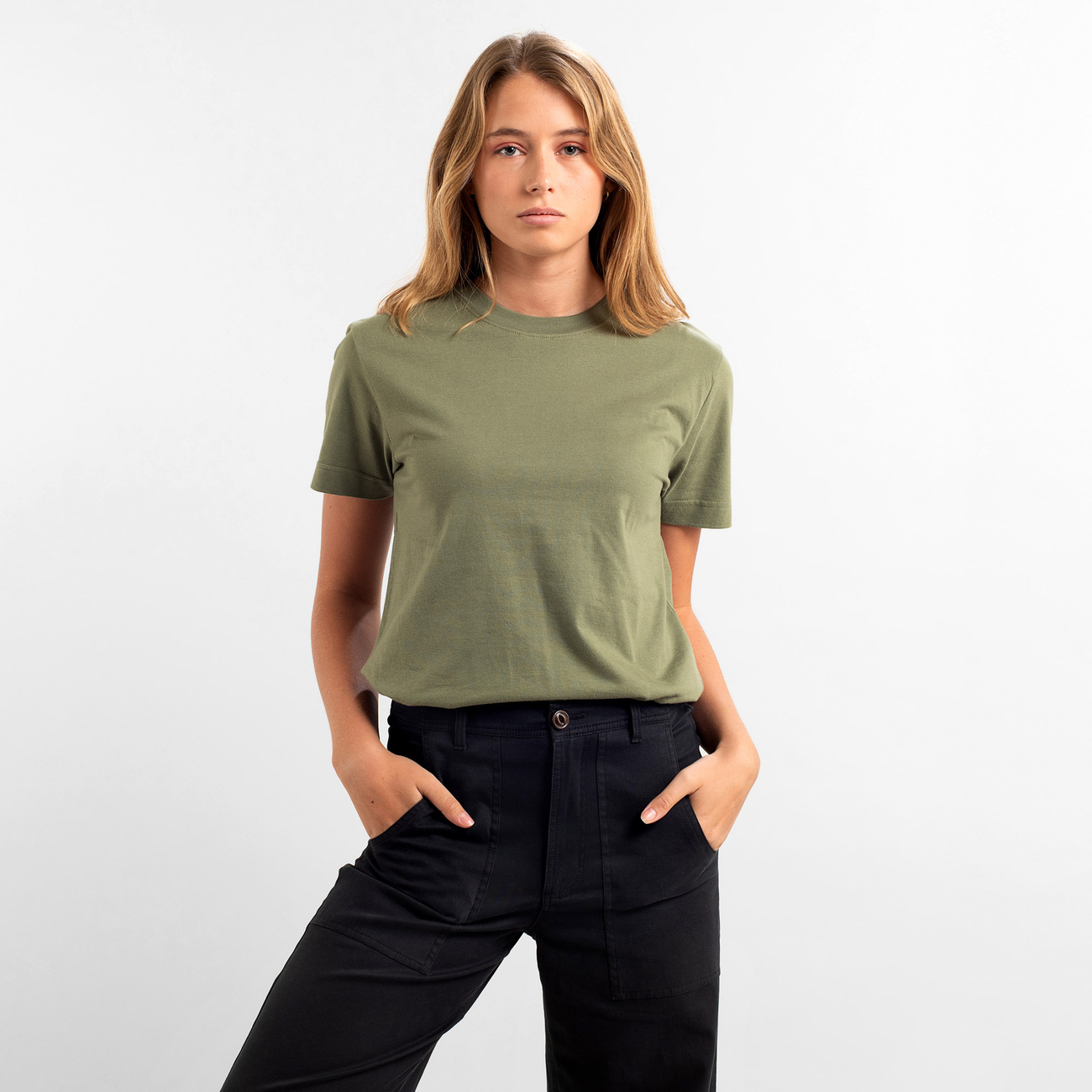 T-shirt Mysen Base Leaf Green