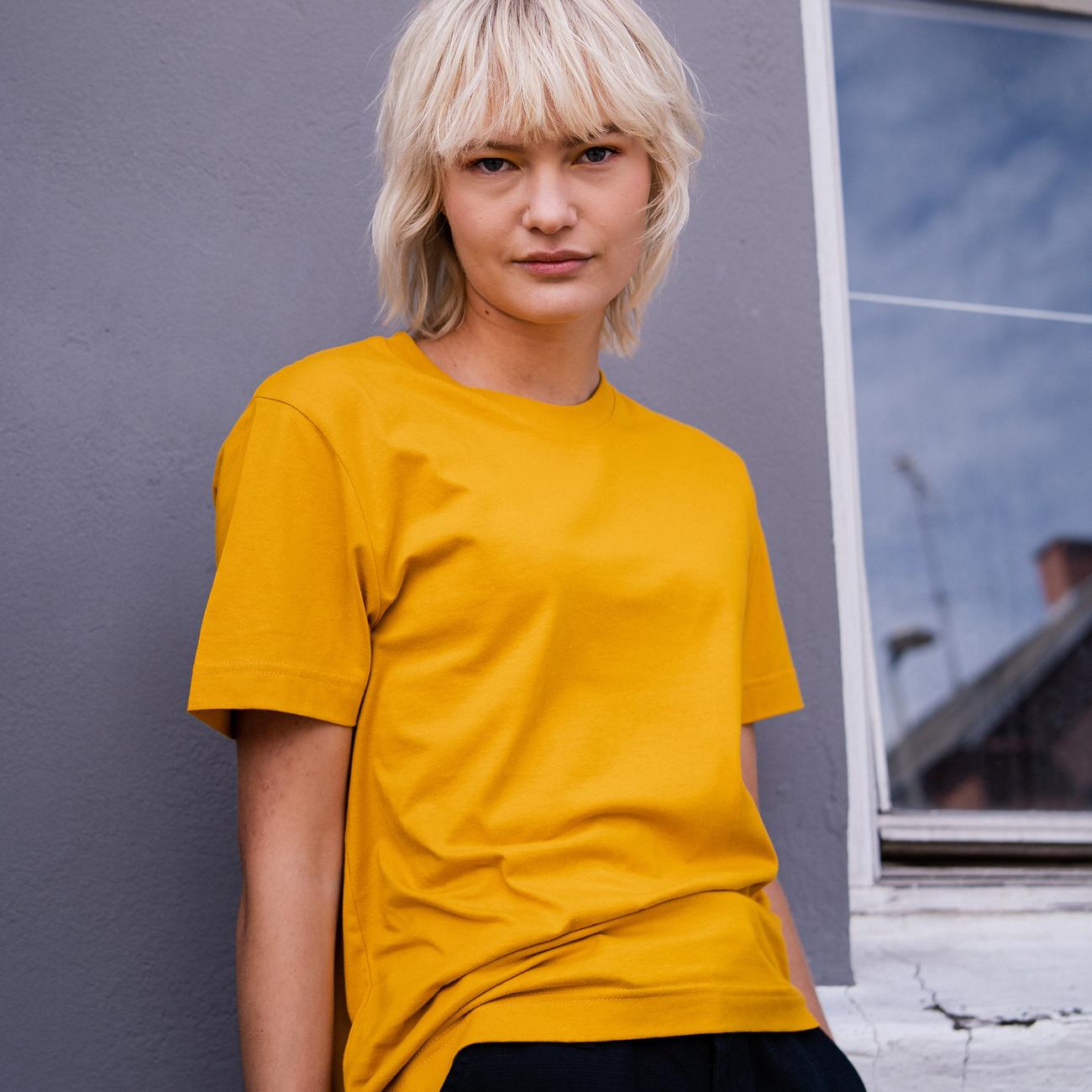 T-shirt Mysen Base Golden Yellow
