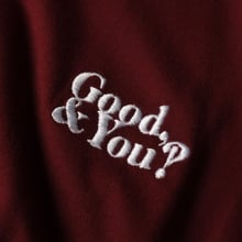 T-shirt Mysen Good and You Burgundy