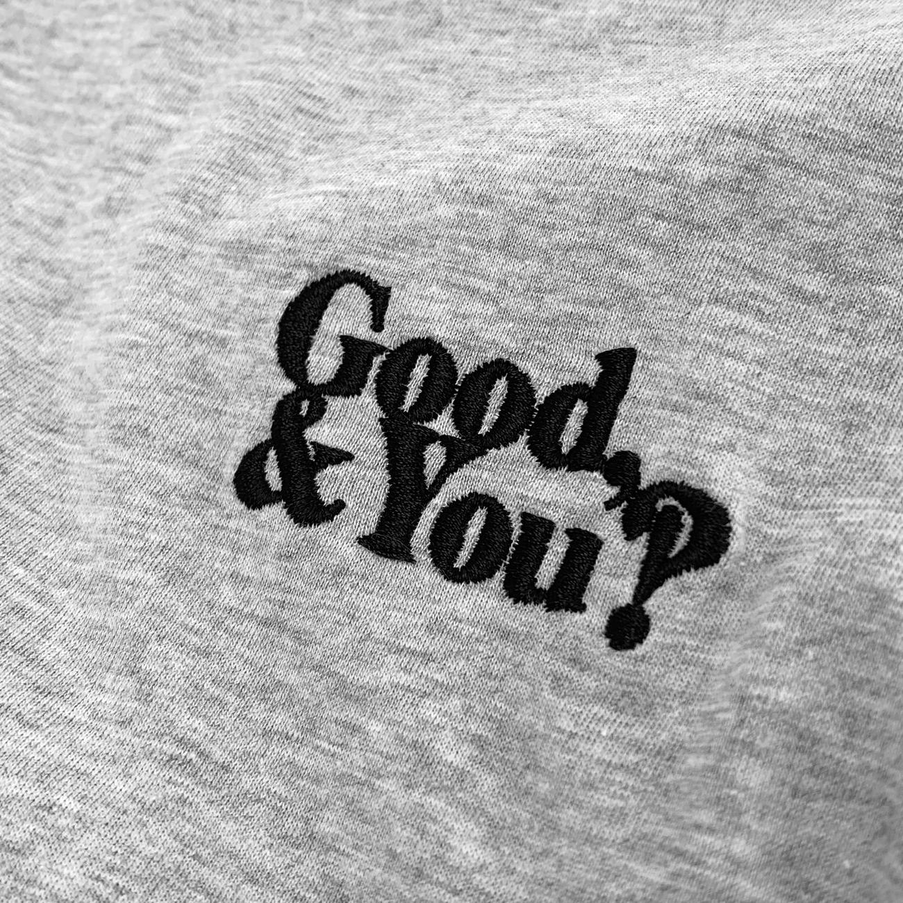 T-shirt Mysen Good and You Grey Melange