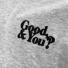 T-shirt Mysen Good and You Grey Melange