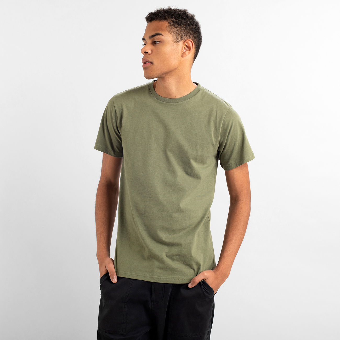 T-shirt Stockholm Base Leaf Green