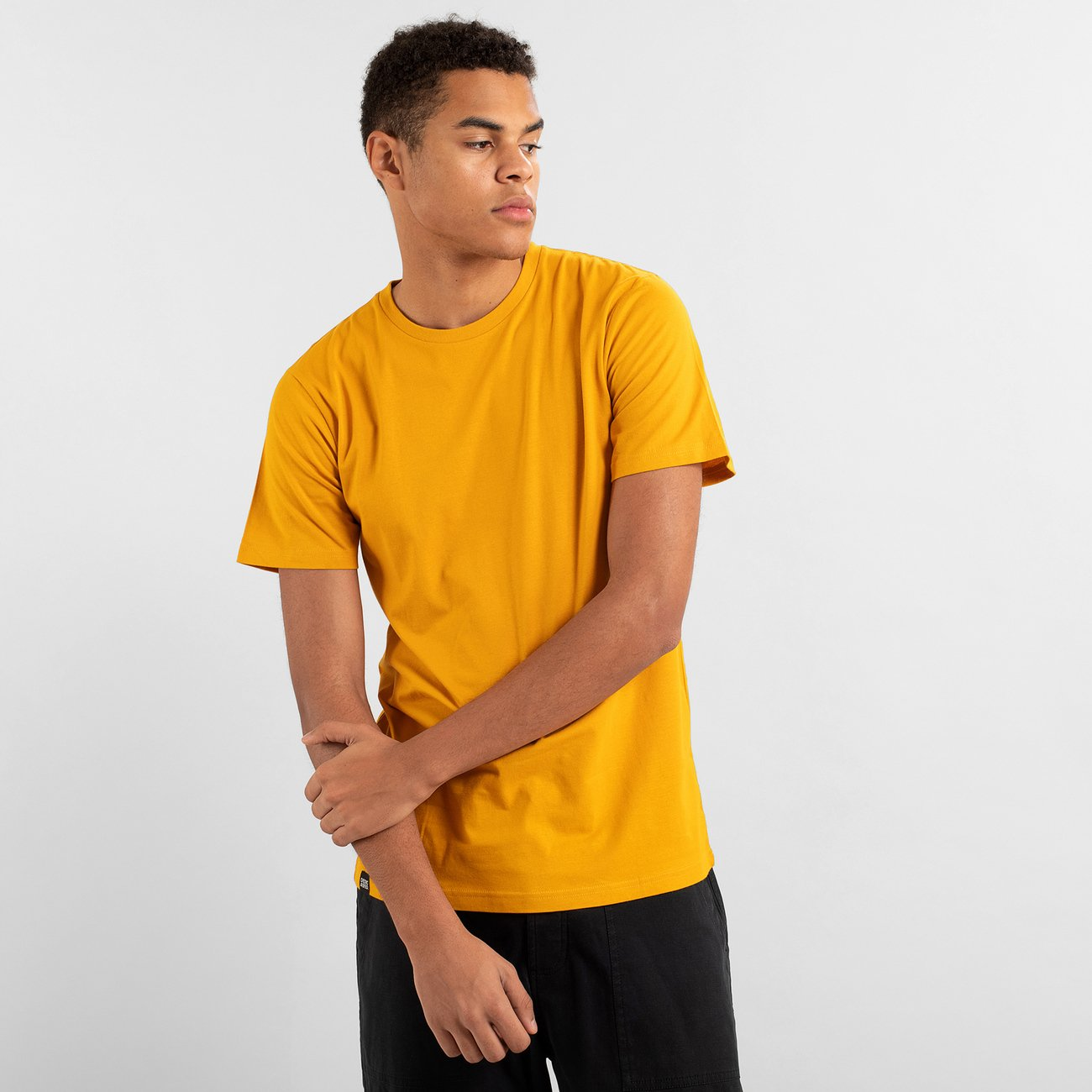 T-shirt Stockholm Base Golden Yellow