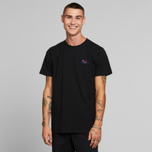 T-shirt Stockholm Stitch Bike Black