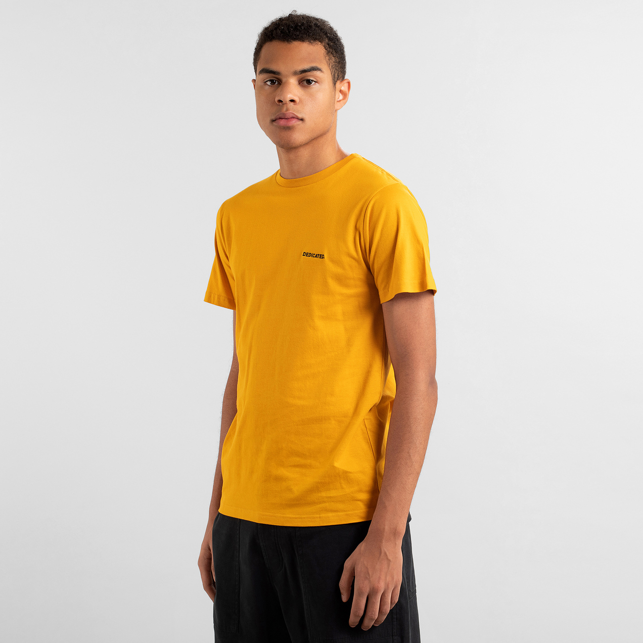 T-shirt Stockholm Dedicated Logo Golden Yellow