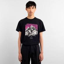 T-shirt Stockholm Drawn Mountain Black