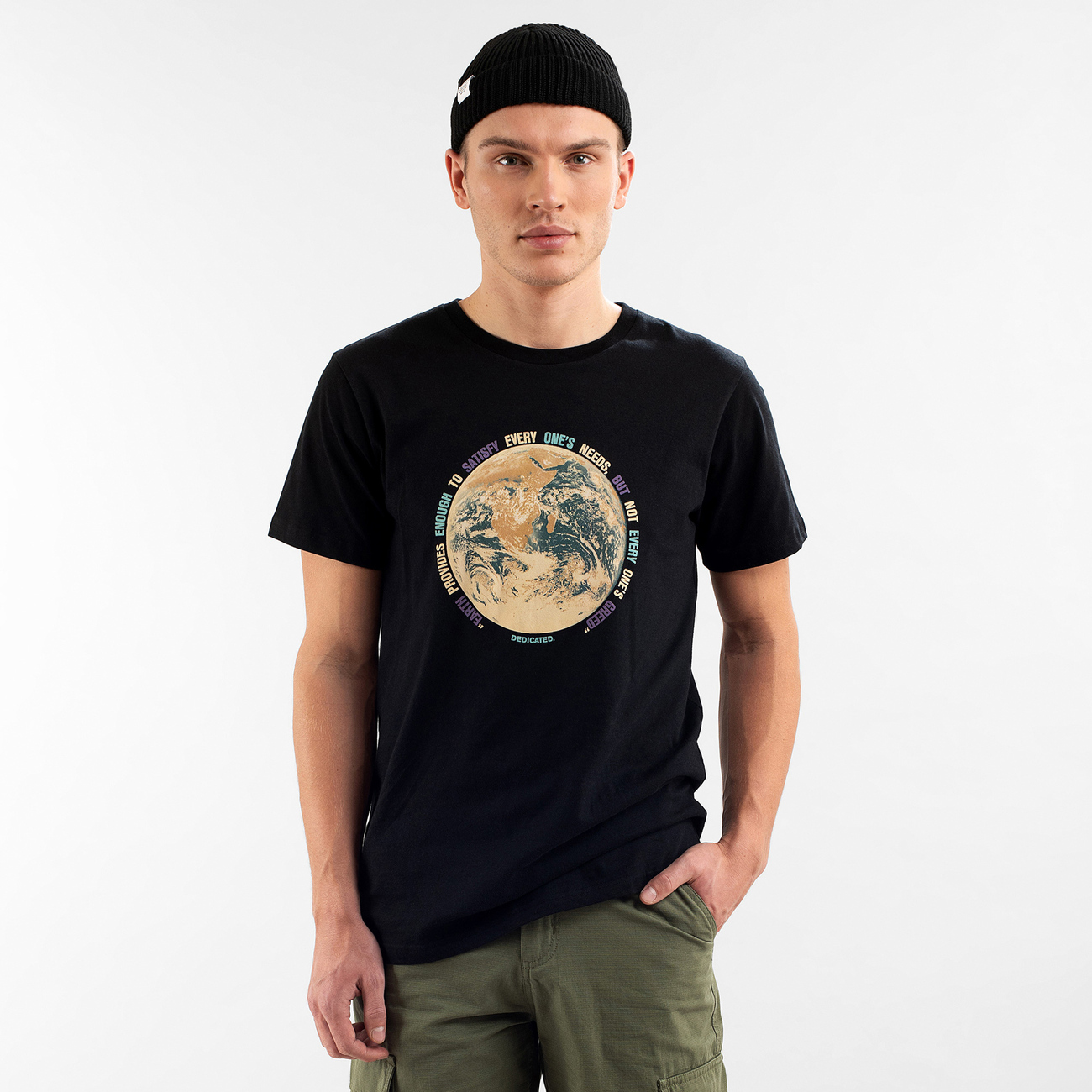 T-shirt Stockholm Earth Greed