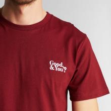 T-shirt Stockholm Good and You Burgundy