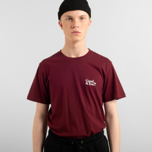 T-shirt Stockholm Good and You Burgundy