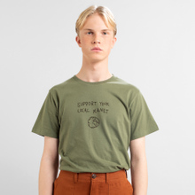 T-shirt Stockholm Local Planet Leaf Green
