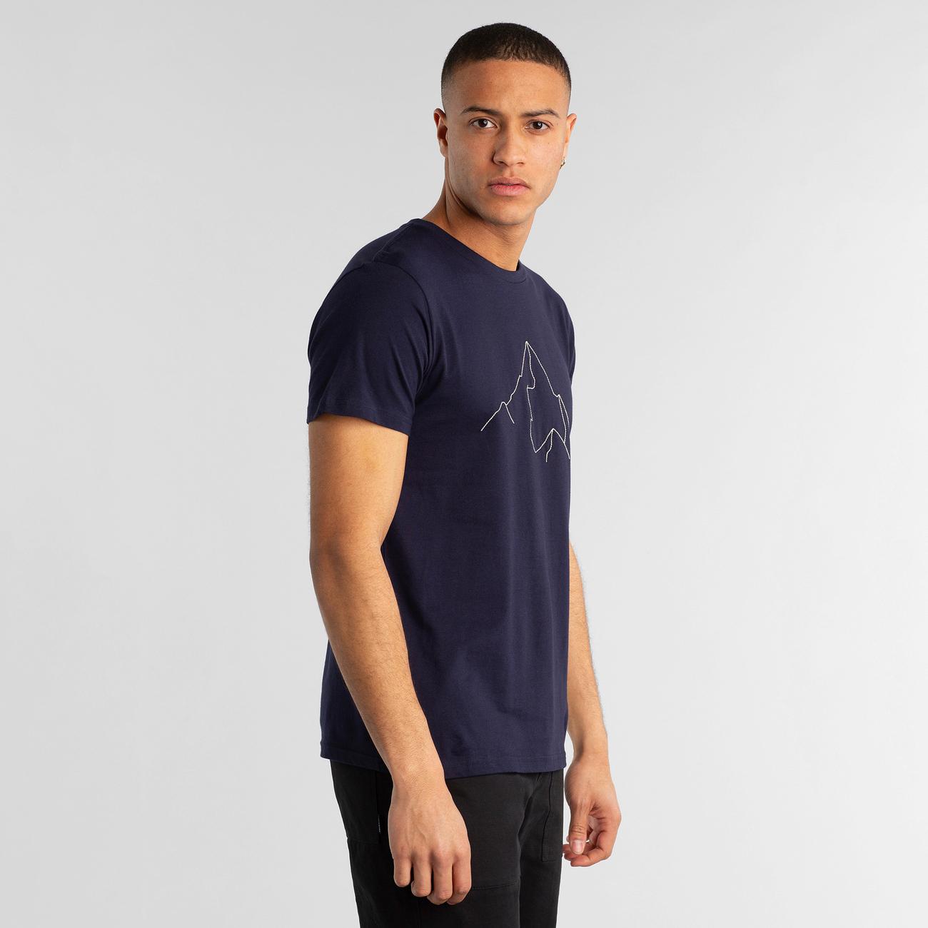 T-shirt Stockholm Mountain Navy