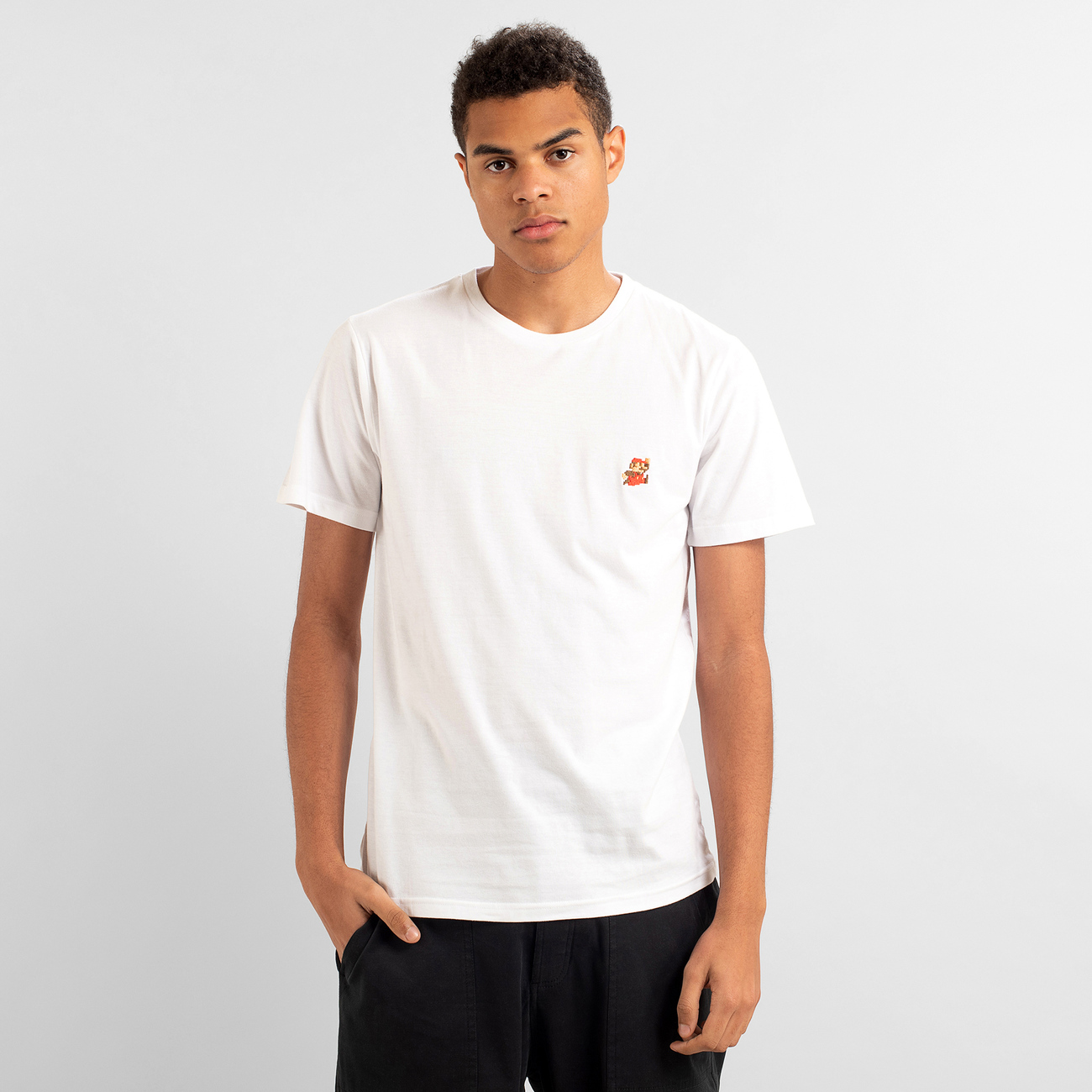 T-shirt Stockholm Super Mario White